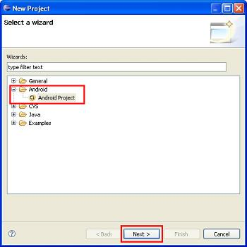 how to write a simple android program in eclipse