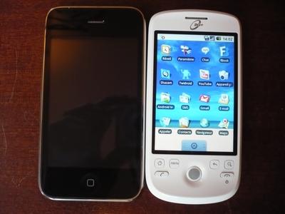 HTC Magic : LE test