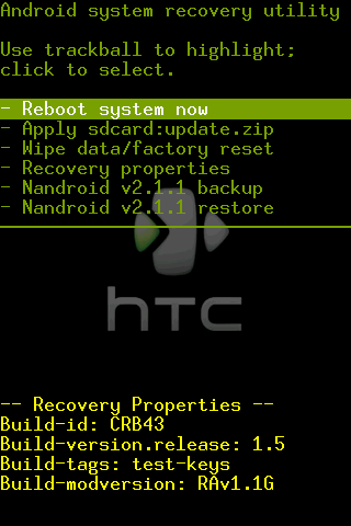 installer le firmware du htc hero sur votre htc magic. Black Bedroom Furniture Sets. Home Design Ideas