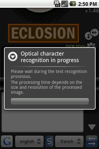 eclosion-ocr