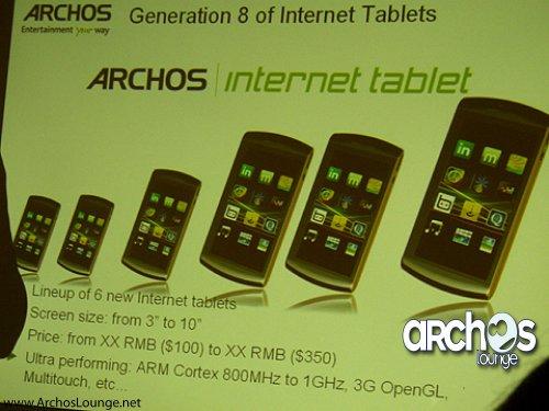 archos generation 8