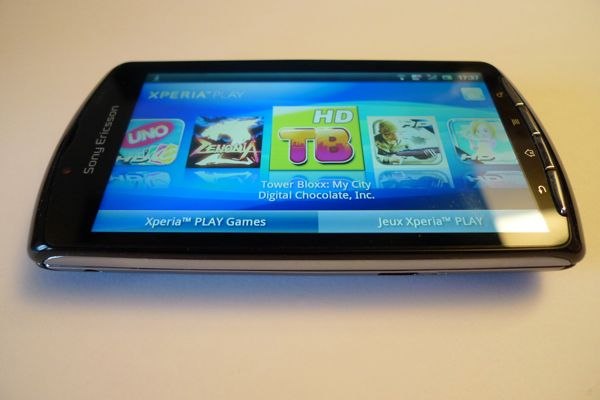 sony ericsson xperia play Test Xperia Play