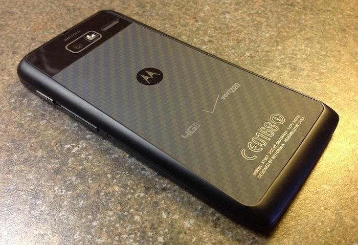 Motorola Droid RAZR M HD arriere rumeurs