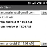 Android : Client GTalk