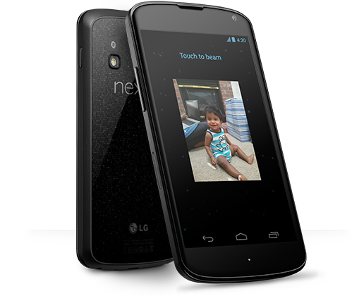 google nexus 4 LG