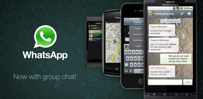 application android Whatsapp