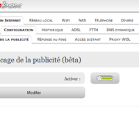 blocage des publicits par defaut chez Free