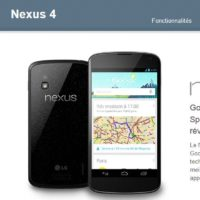 Le Google Nexus 4 est bel et bien disponible sur le Google Play franais