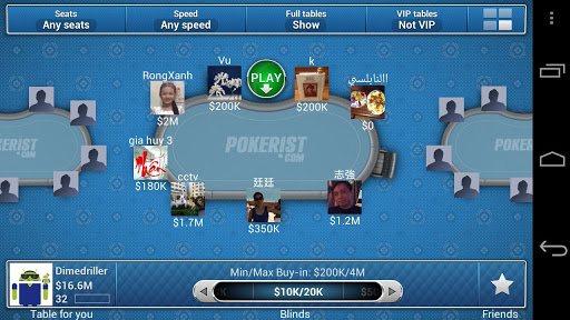 pokerist texas poker 3