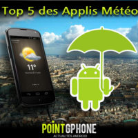 Notre slection des meilleures applications mto pour Android