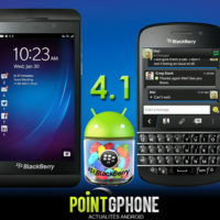 Blackberry 10 Android Runtime : La mise  jour vers Android Jelly Bean est confirme