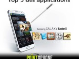 Top 5 Appli Galaxy Note 2