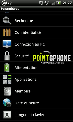 desinstaller application sur android 1