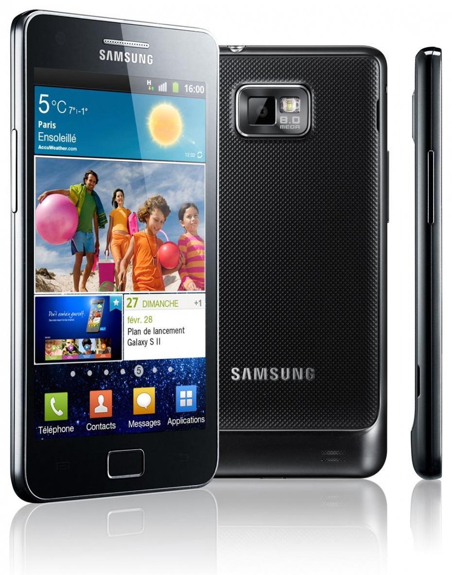 la gamme Galaxy S de Samsung avant l'arrivée du Galaxy S4
