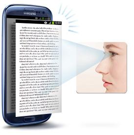 samsung eye scroll