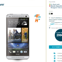 Le Smartphone HTC One est dsormais disponible chez SFR et Bouygues  partir de 59,99