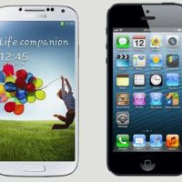 Galaxy S4 VS iPhone 5 : Un match vraiment ingal?