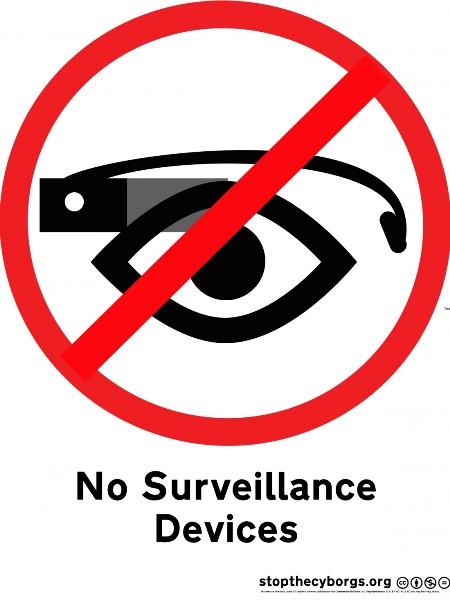 interdiction google glass