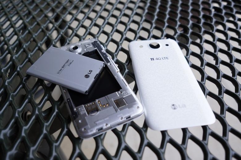 test LG optimus G Pro batterie