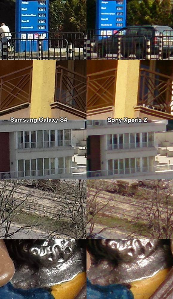 test Sony Xperia Z VS Samsung Galaxy S4 appareil photo