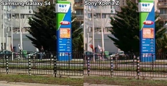 test Sony Xperia Z VS Samsung Galaxy S4 caméra vidéo