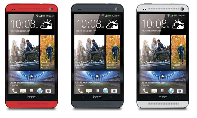 HTC-One-Red