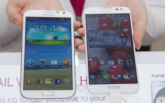 Samsung galaxy note 2 vs lg optimus g pro comparaison en - Difference entre note 3 et note 3 lite ...