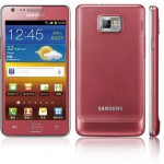 Une version rose pour le Samsung Galaxy S2