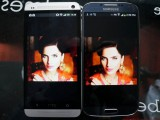 HTC One VS Samsung Galaxy S4 comparaison 1