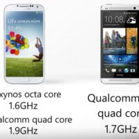 Samsung Galaxy S4 VS HTC One : Le face  face
