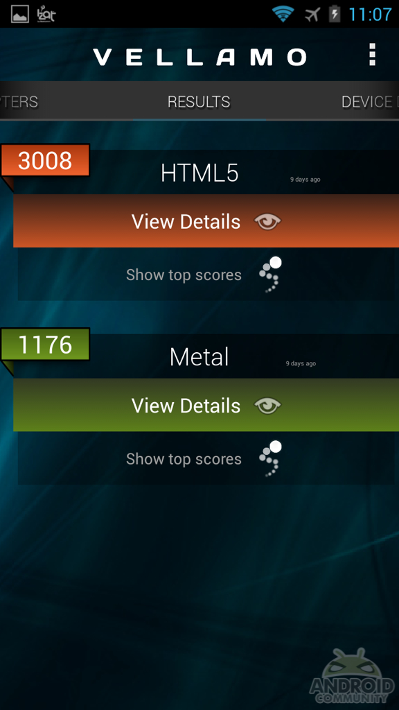 Test Benchmark Snapdragon S800 19064