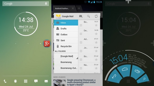 CyanogenMod vs Paranoid Android 30072