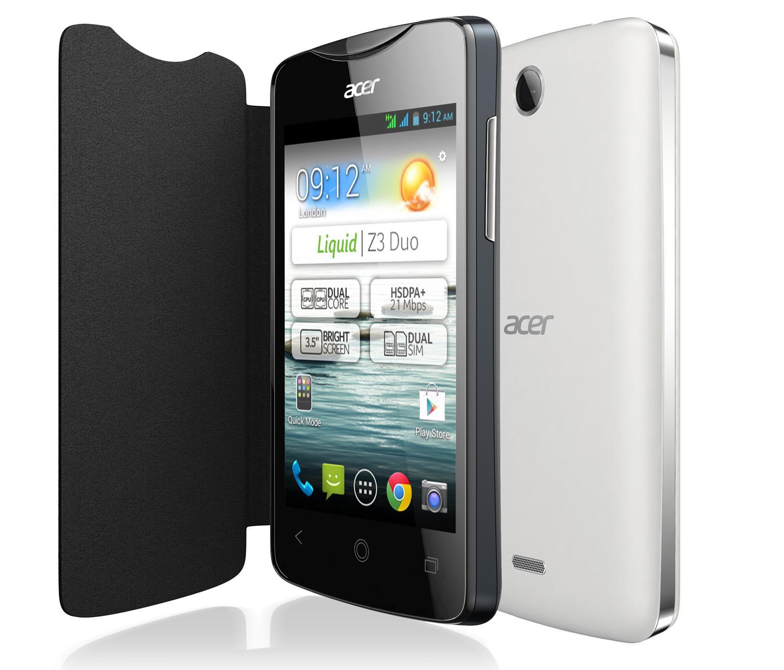 Acer Liquid Z3 Duo est un Smartphone Android dual-SIM qui vous ...