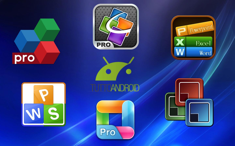 Voici quelques applications suite bureautique pour android - Telecharger open office gratuit pour tablette android ...