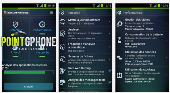 FREE AVG AntiVirus Free for Android