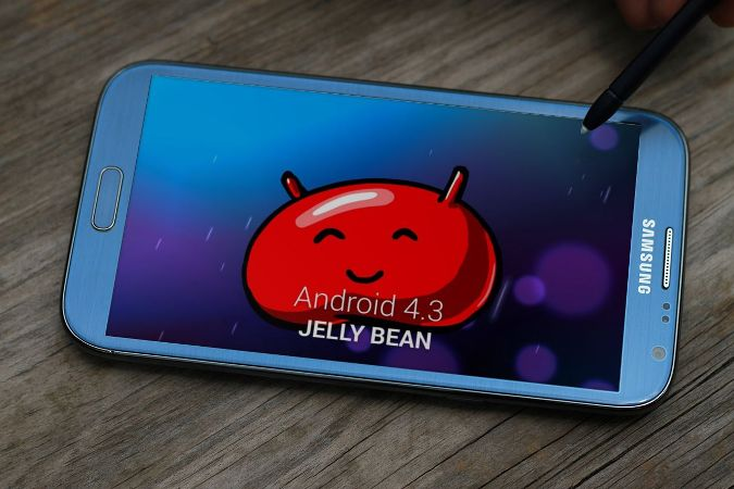 Android 4.3 sur Galaxy Note 2