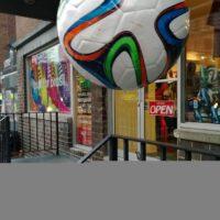 image ballon de foot prise avec le Nokia Lumia 1520