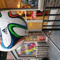 image ballon de foot prise avec le galaxy mega 6.3