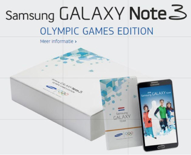 Galaxy note 3 olympic game edition 2301