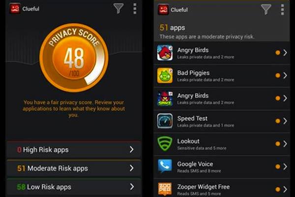 Des applications Android espions
