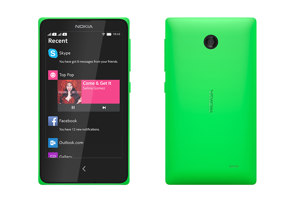 L\'apparition du Nokia X+...