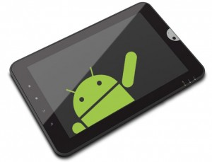 Photo : tablette android