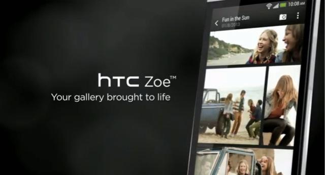 L\'application Zoe d\'HTC bientot disponible sur PlayStore...