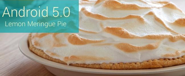 Android Lemon Meringue Pie pour Android L?...