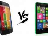 Motorola Moto G vs Nokia Lumia 630