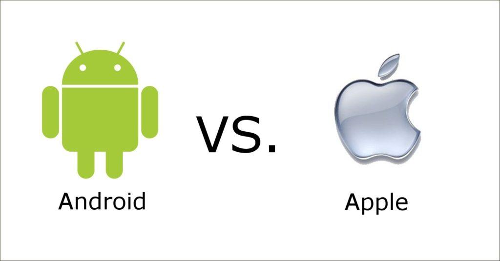 Android vaincu par iOS...