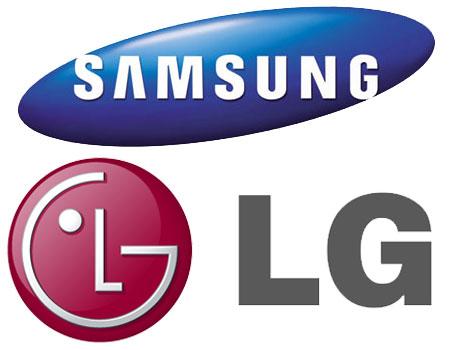 Photo : Samsung et LG