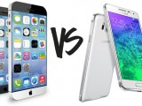Photo Samsung Galaxy Vs Iphone 6