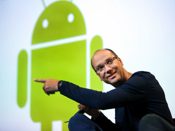 Le pere d\'Android Andy Rubin quitte Google...