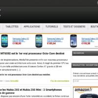 Test HTC One max ecran navigateur web 2